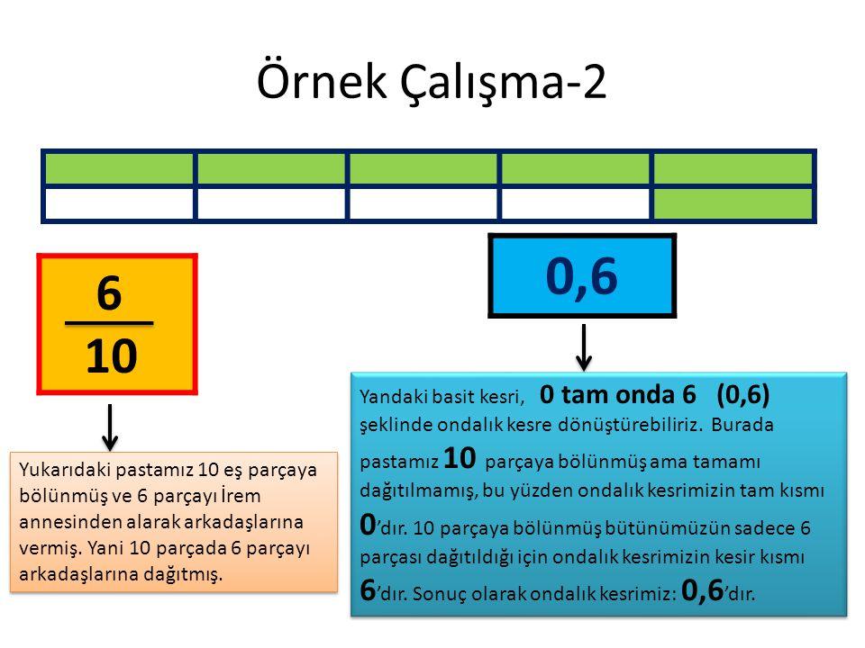 Örnek Çalışma-2 0,6. 6. 10.