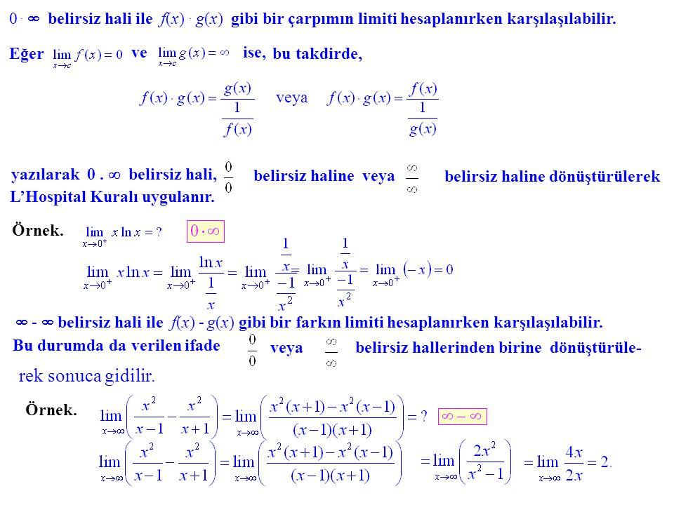  belirsiz hali ile f(x)