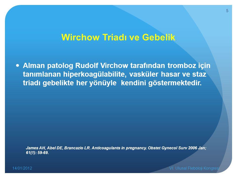 Wirchow Triadı ve Gebelik