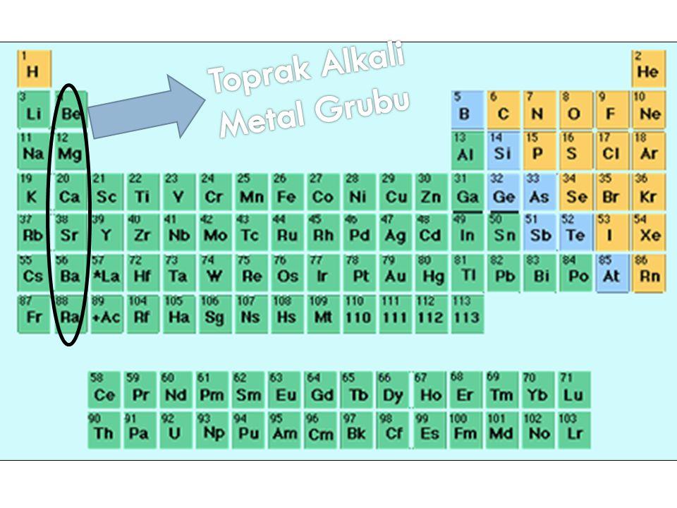 Toprak Alkali Metal Grubu