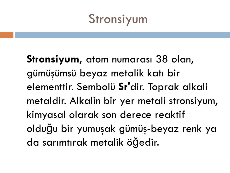 Stronsiyum