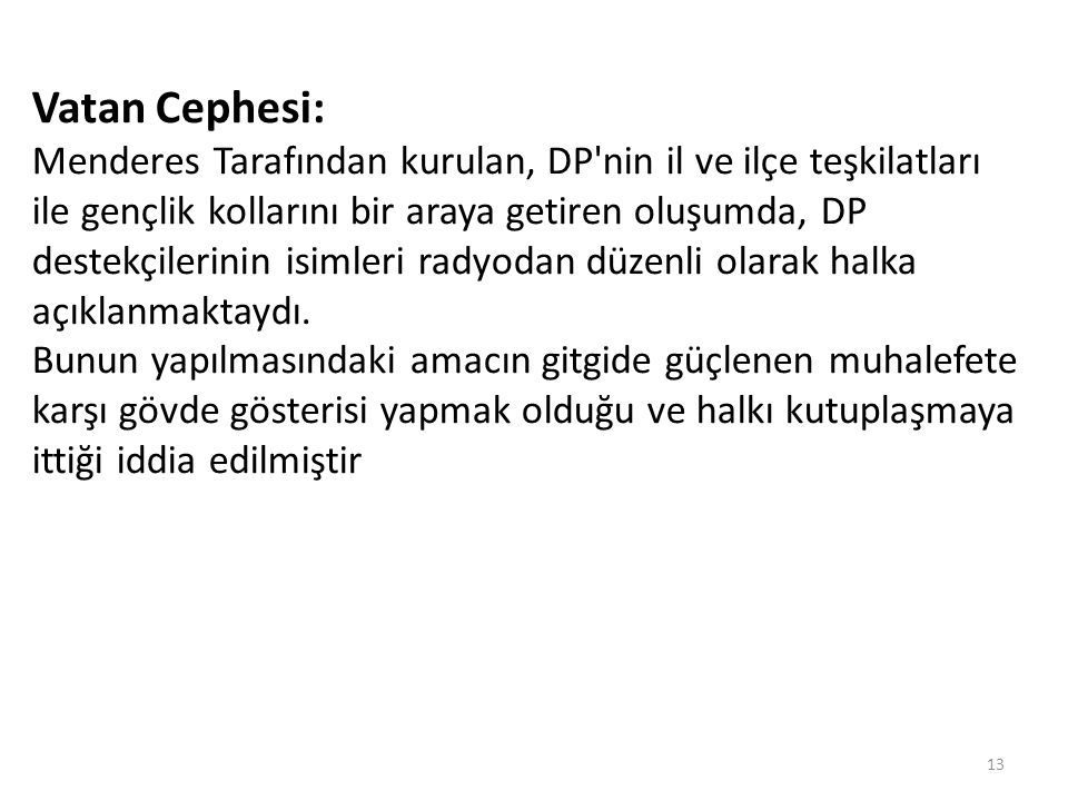 Vatan Cephesi: