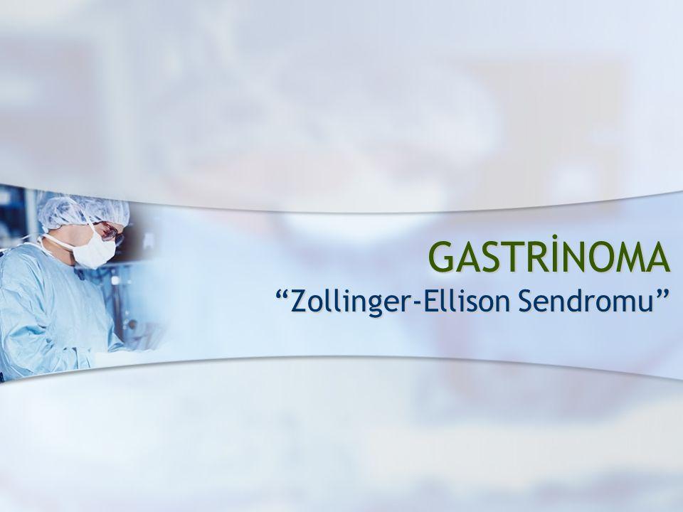 Zollinger-Ellison Sendromu