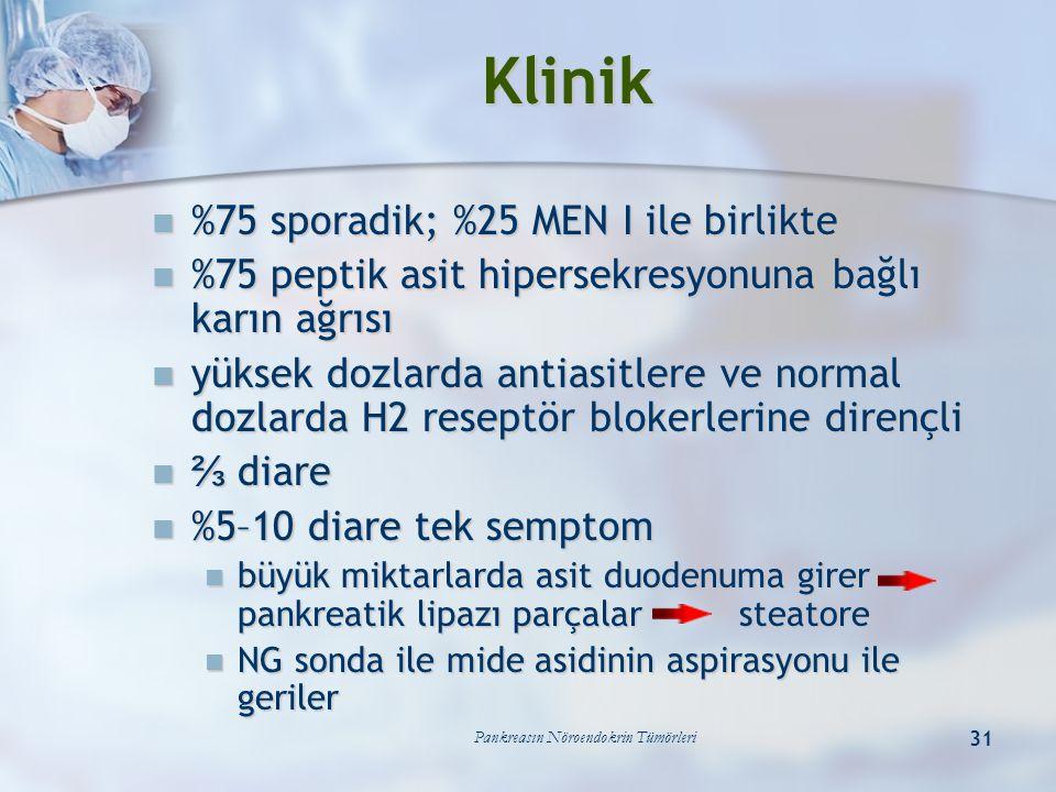 Pankreasın Nöroendokrin Tümörleri