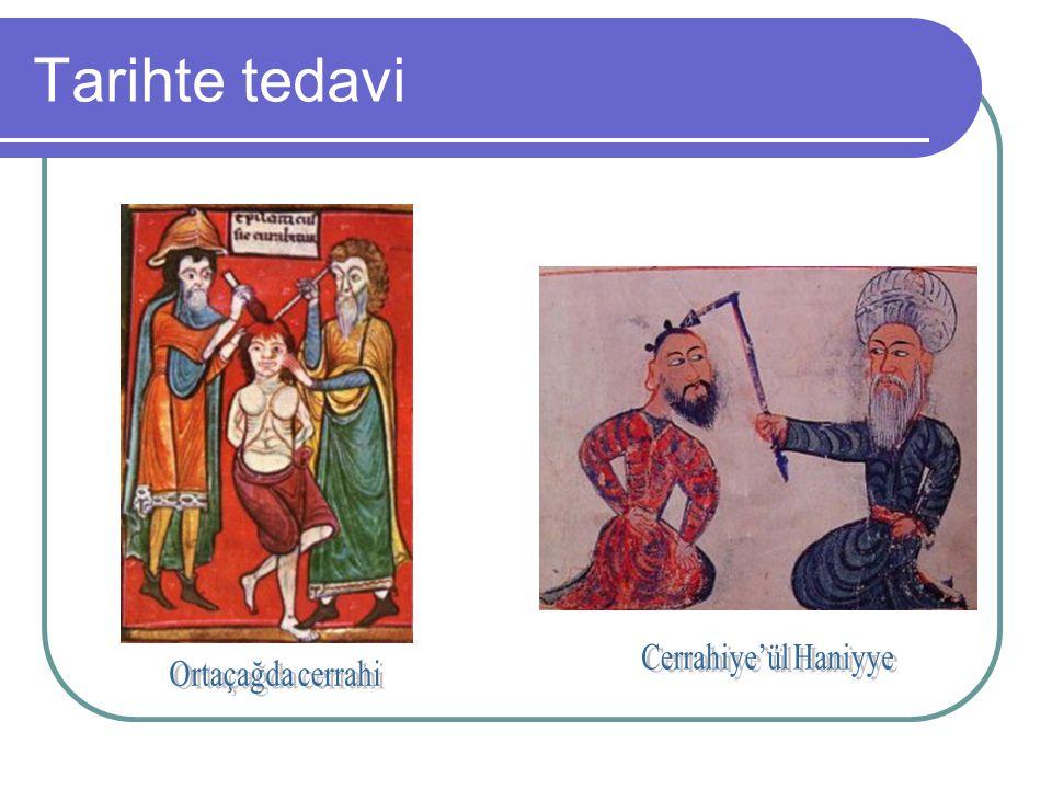 Tarihte tedavi Cerrahiye'ül Haniyye Ortaçağda cerrahi