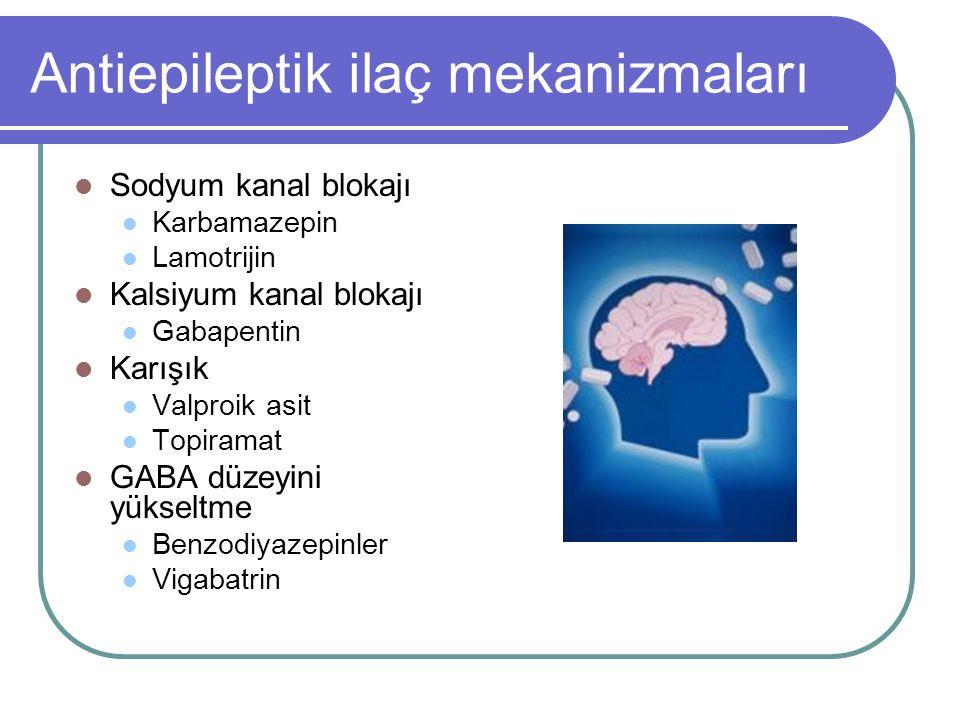Antiepileptik ilaç mekanizmaları