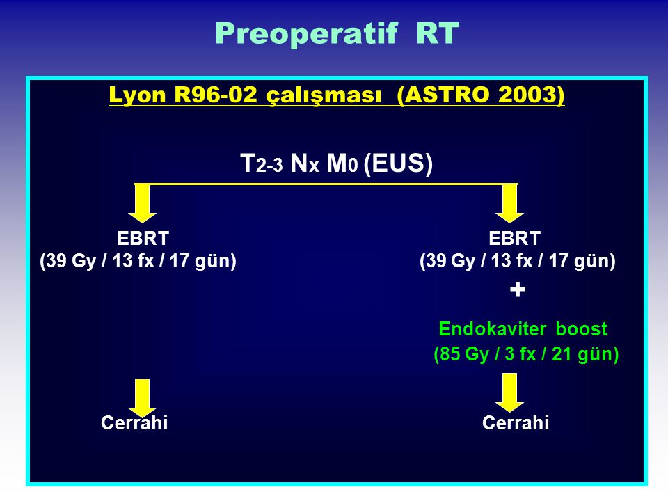 Lyon R96-02 çalışması (ASTRO 2003)