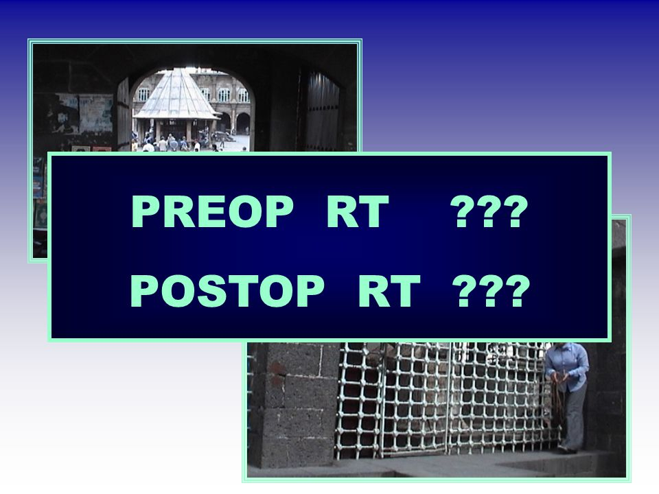 PREOP RT POSTOP RT
