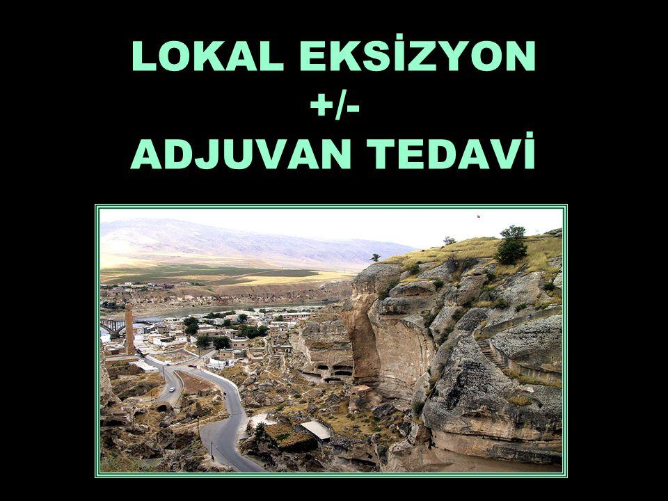 LOKAL EKSİZYON +/- ADJUVAN TEDAVİ