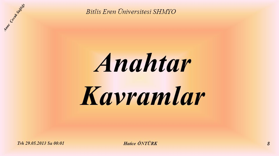 Bitlis Eren Üniversitesi SHMYO