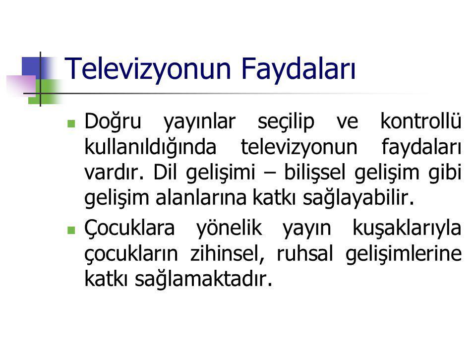 Televizyonun Faydaları