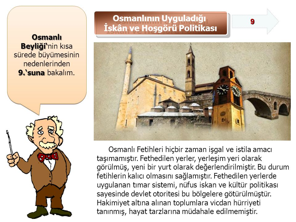 Osmanlının Uyguladığı İskân ve Hoşgörü Politikası