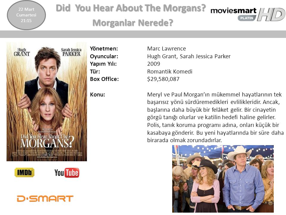 Did You Hear About The Morgans Morganlar Nerede