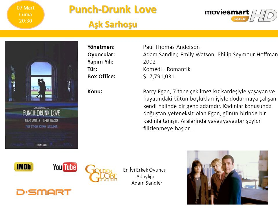Punch-Drunk Love Aşk Sarhoşu