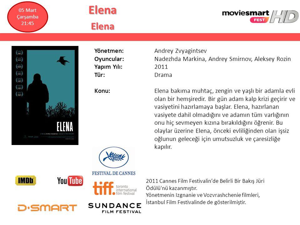 Elena Yönetmen: Andrey Zvyagintsev