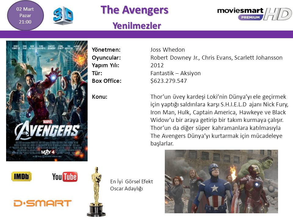 The Avengers Yenilmezler