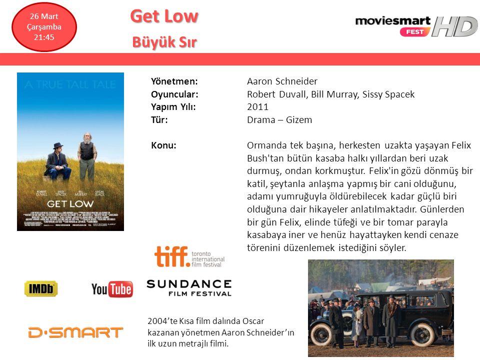 Get Low Büyük Sır Yönetmen: Aaron Schneider