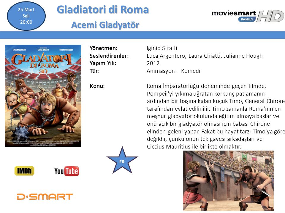 Gladiatori di Roma Acemi Gladyatör