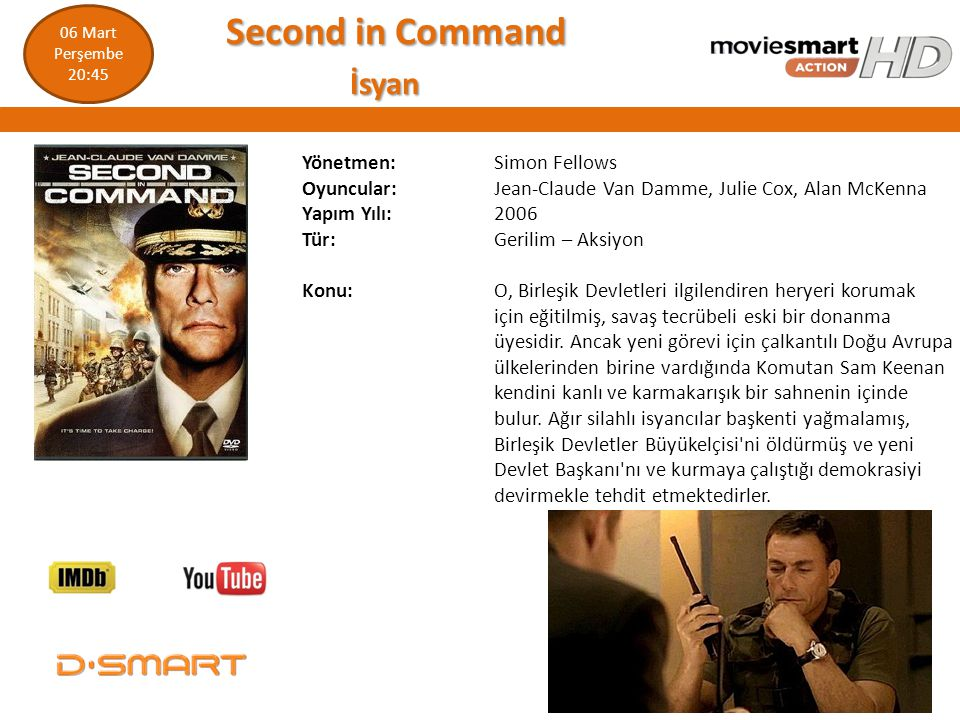 Second in Command İsyan