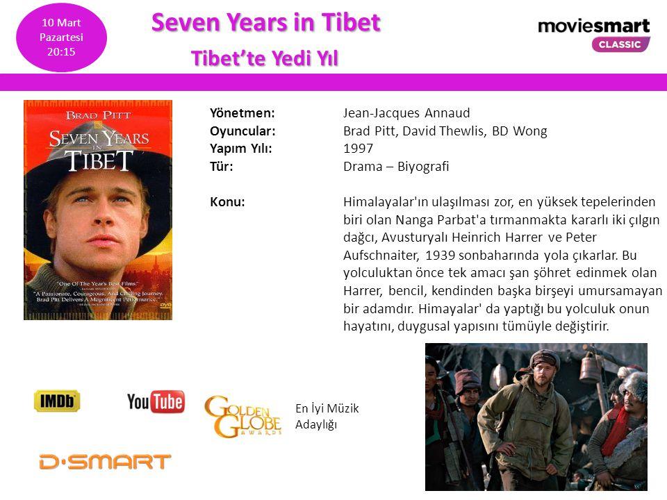 Seven Years in Tibet Tibet'te Yedi Yıl