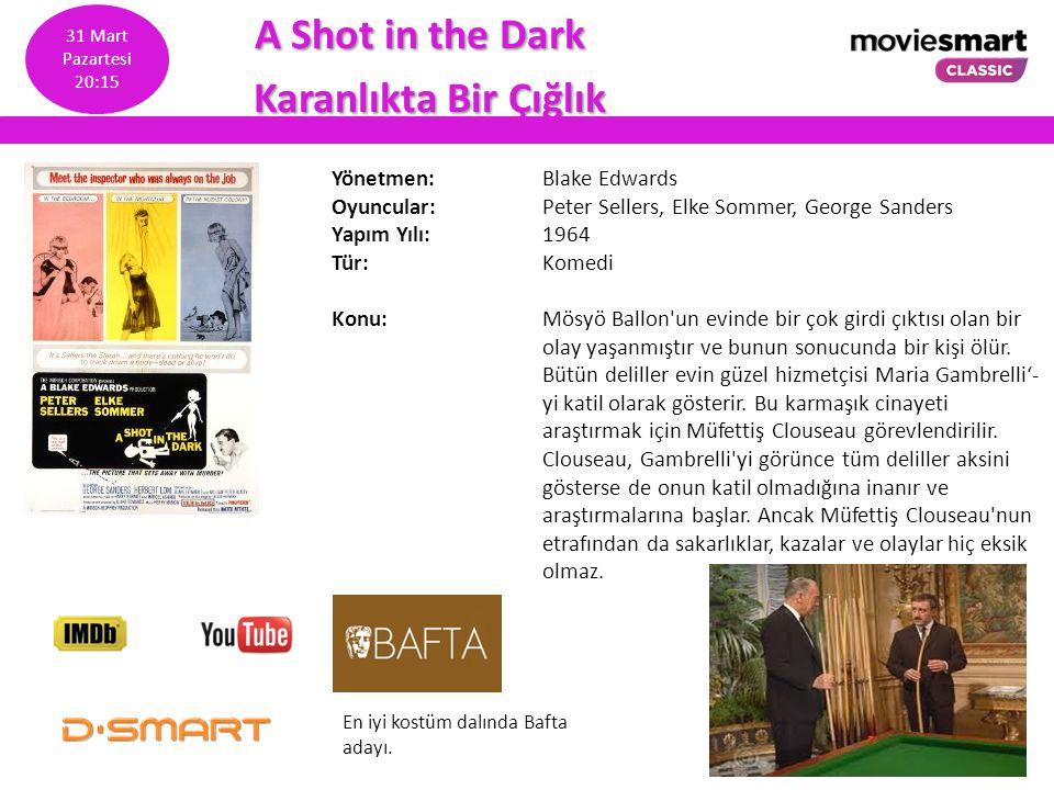 A Shot in the Dark Karanlıkta Bir Çığlık