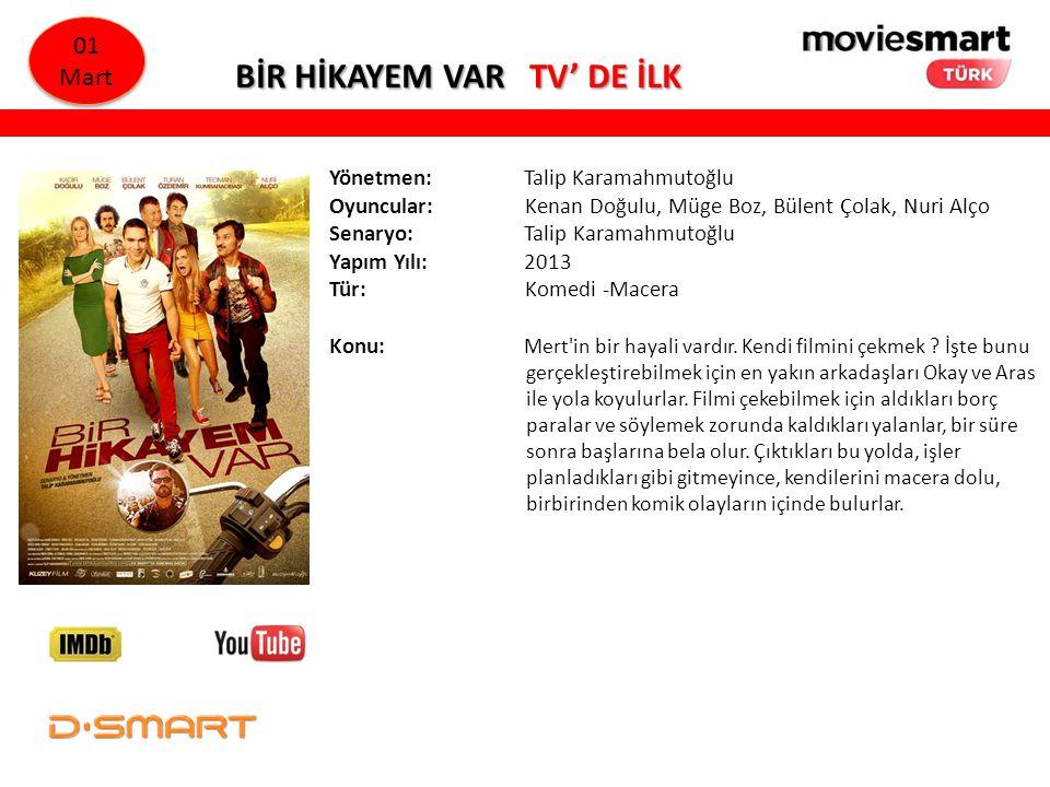 BİR HİKAYEM VAR TV' DE İLK