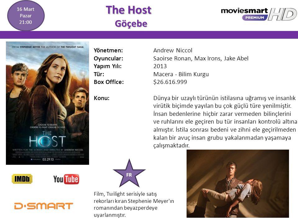 The Host Göçebe Yönetmen: Andrew Niccol