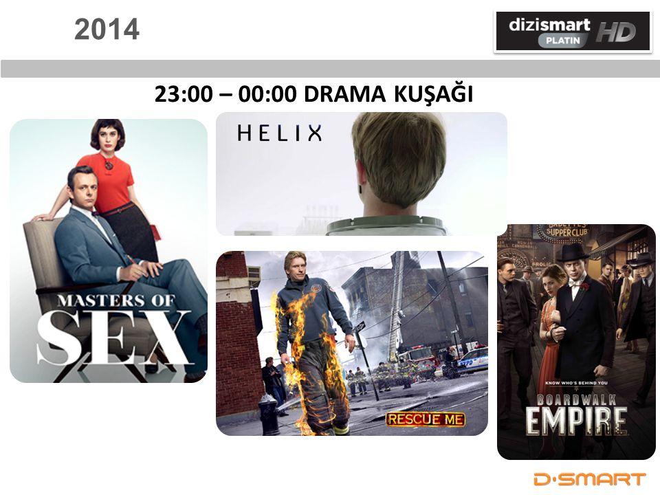 2014 23:00 – 00:00 DRAMA KUŞAĞI