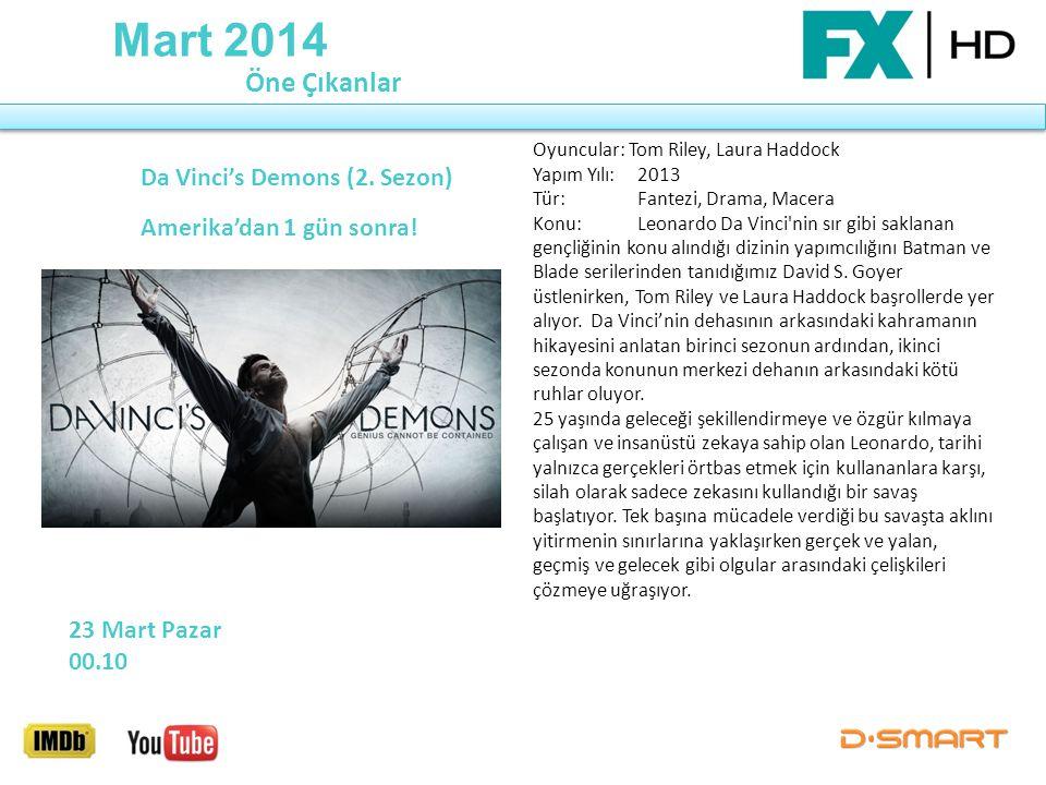 Da Vinci's Demons (2. Sezon) Amerika'dan 1 gün sonra!