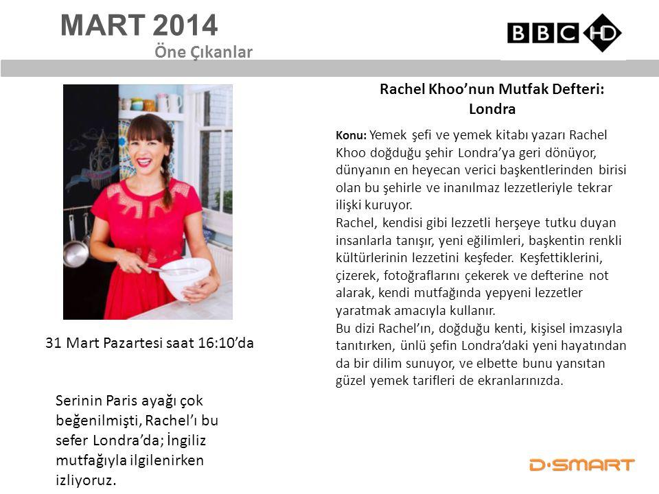 Rachel Khoo'nun Mutfak Defteri: Londra