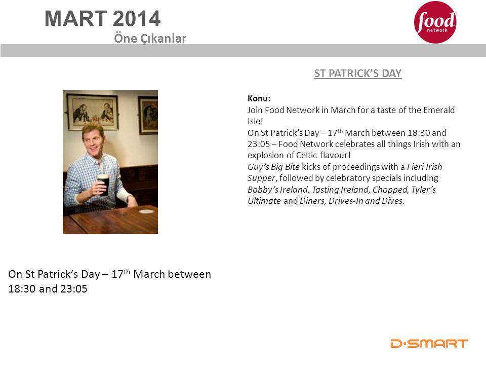 MART 2014 Öne Çıkanlar ST PATRICK'S DAY