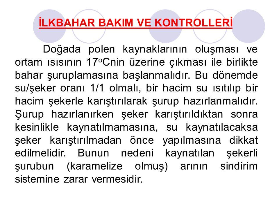 İLKBAHAR BAKIM VE KONTROLLERİ