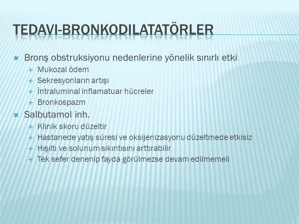 Tedavi-bronkodilatatörler