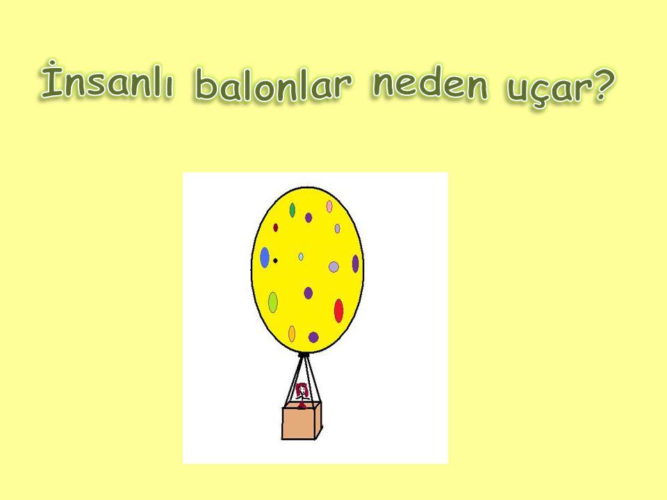 İnsanlı balonlar neden uçar