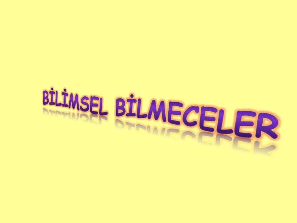 BİLİMSEL BİLMECELER