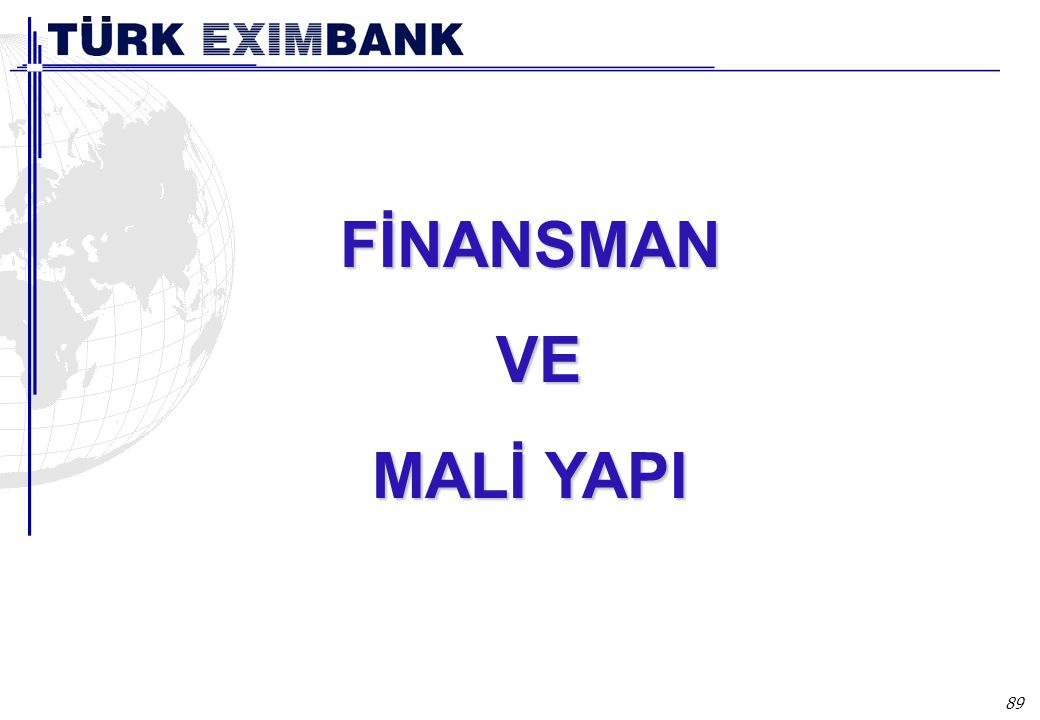 FİNANSMAN FAALİYETLERİ
