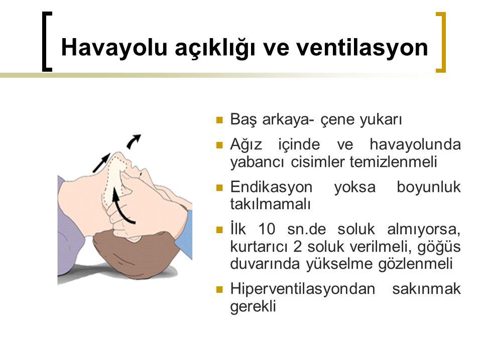 Havayolu açıklığı ve ventilasyon