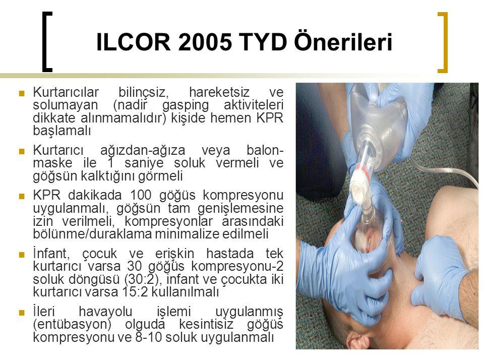 ILCOR 2005 TYD Önerileri