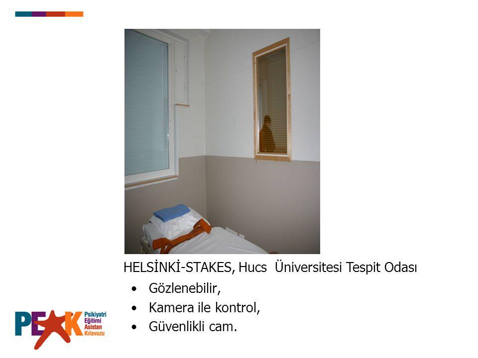 HELSİNKİ-STAKES, Hucs Üniversitesi Tespit Odası