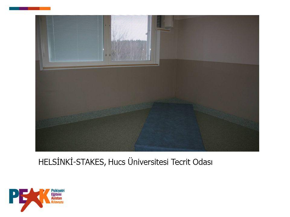 HELSİNKİ-STAKES, Hucs Üniversitesi Tecrit Odası