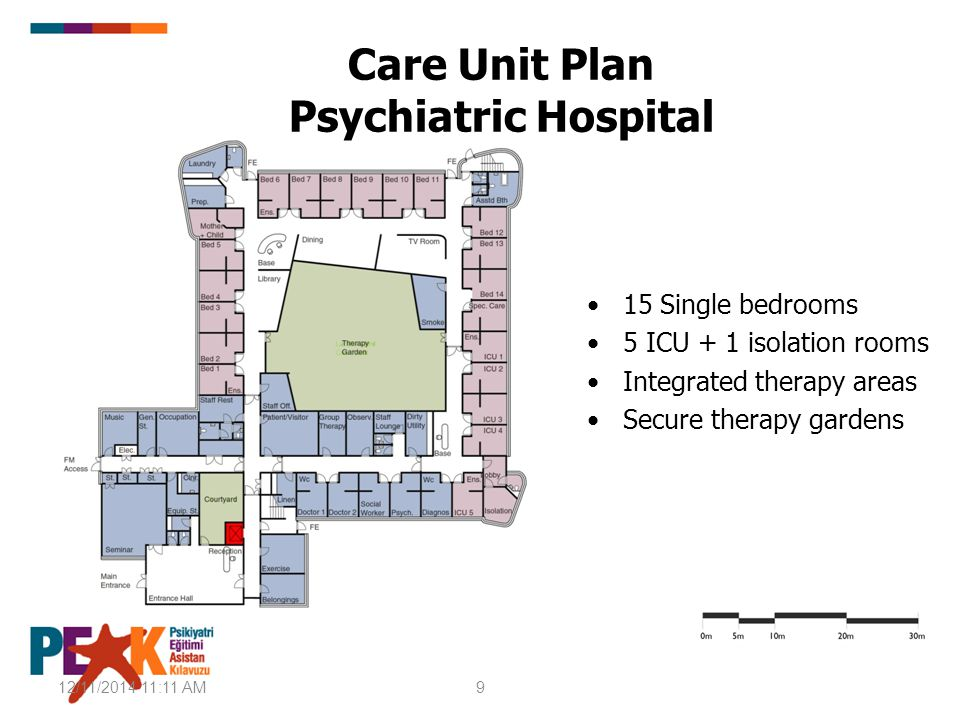 Care Unit Plan Psychiatric Hospital