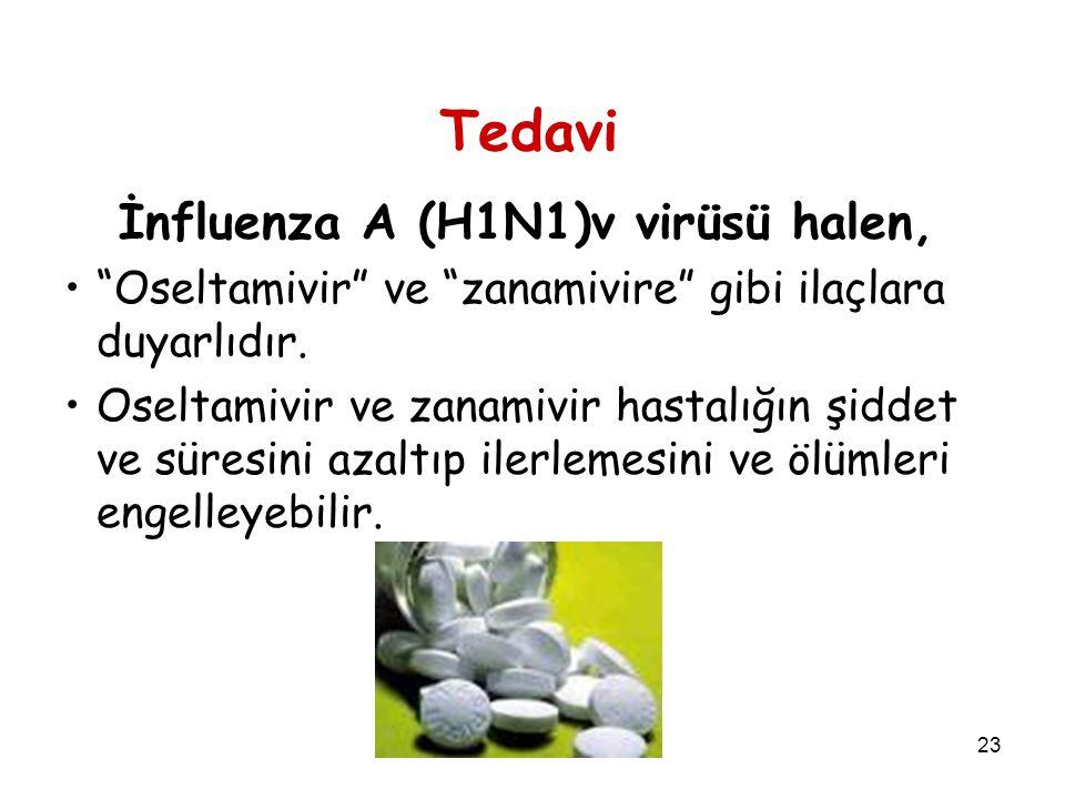 Tedavi İnfluenza A (H1N1)v virüsü halen,
