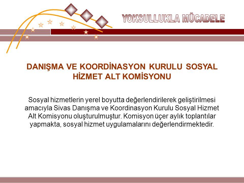 DANIŞMA VE KOORDİNASYON KURULU SOSYAL HİZMET ALT KOMİSYONU