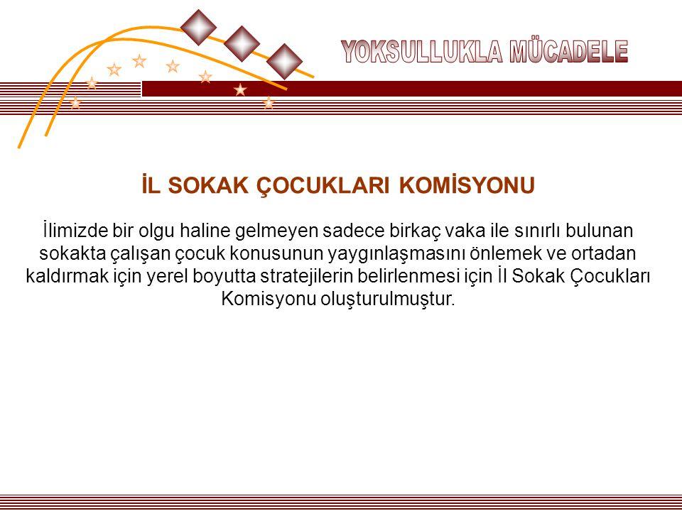 İL SOKAK ÇOCUKLARI KOMİSYONU