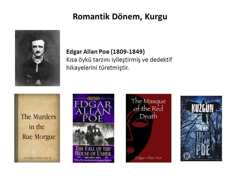 Romantik Dönem, Kurgu Edgar Allan Poe (1809-1849)