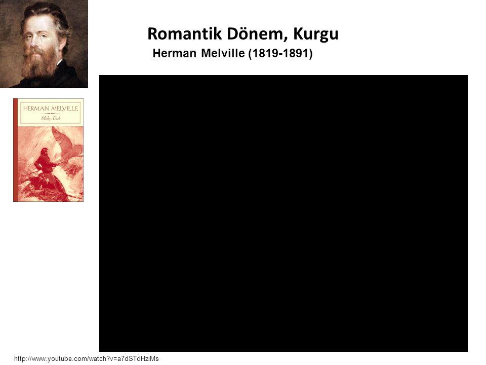 Romantik Dönem, Kurgu Herman Melville (1819-1891)