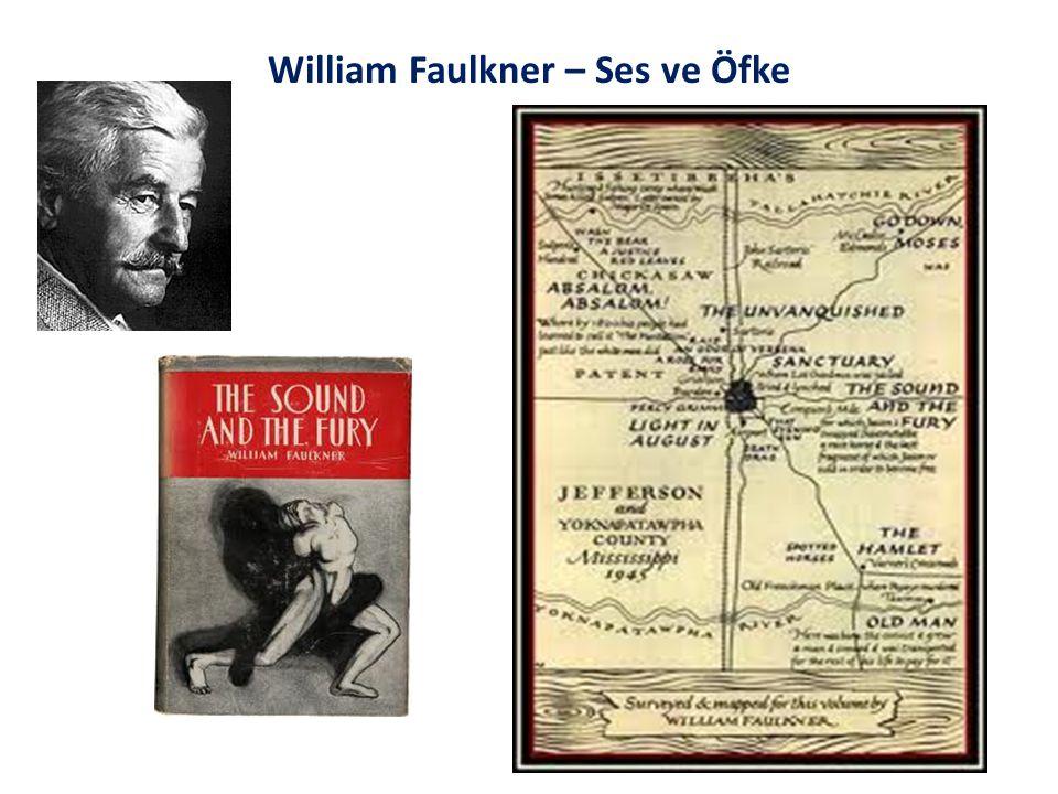William Faulkner – Ses ve Öfke