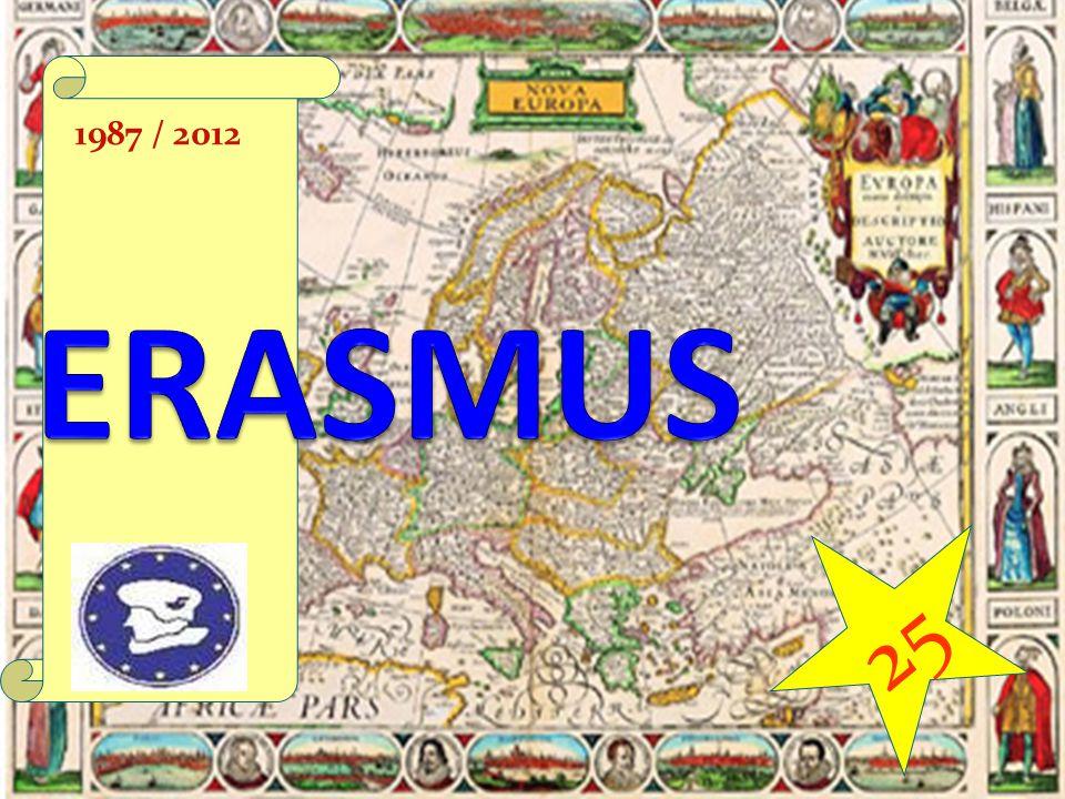 1987 / 2012 ERASMUS 25