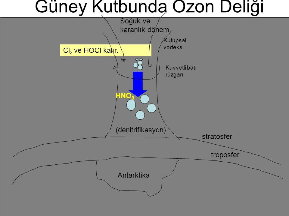 Güney Kutbunda Ozon Deliği