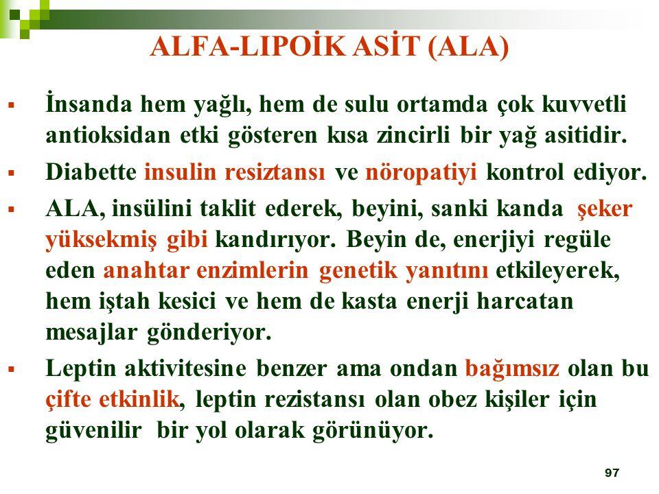 ALFA-LIPOİK ASİT (ALA)
